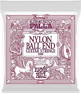 Ernie Ball P02409 Ernesto Palla Nylon Black and Gold Classical Ball End Set, Black & Gold