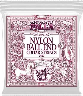 Ernie Ball Ernesto Palla Nylon Black and Gold Classical Ball End Set