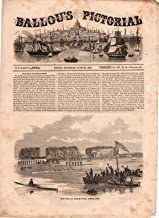 Ballou's Pictorial Drawing-Room Companion,June 20, 1857. Boat Race on the Charles River; Edwin Booth; Poodle Training; Persian Horses; Sunshine; The Whaleship and the Cannibals; Parisian Theaters
