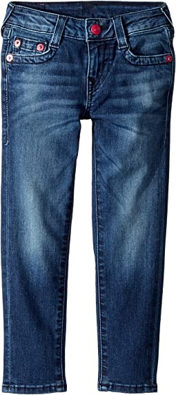 True Religion Kids - Casey Skinny Jeans in Blue Anatomy (Toddler/Little Kids)