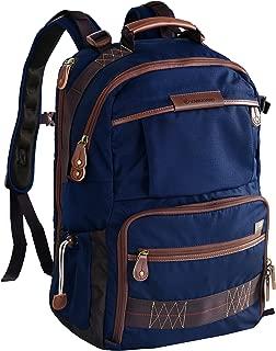 Vanguard Havana 48 Backpack (Blue) for Sony, Nikon, Canon, Fujifilm Mirrorless, Compact System Camera (CSC), DSLR, Travel