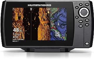 Humminbird HELIX 7 Fishfinder 410950-1NAV, CHIRP MSI GPS G3 with Navionics + Card (Renewed)