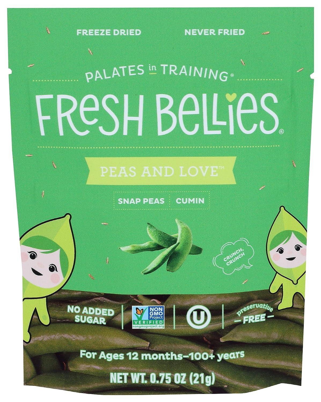 Fresh shipfree Bellies Snack Snap Pea Freeze Dried Cumin Ranking TOP11 0.75 Ounce
