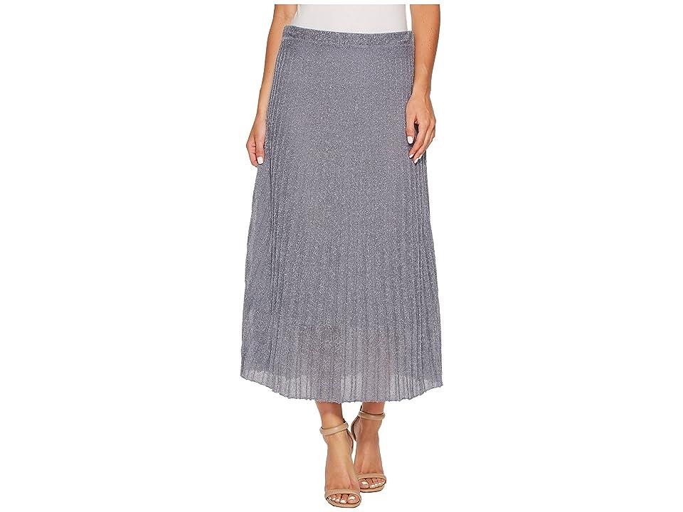 NIC+ZOE Fluid Knit Skirt (Moonlight) Women