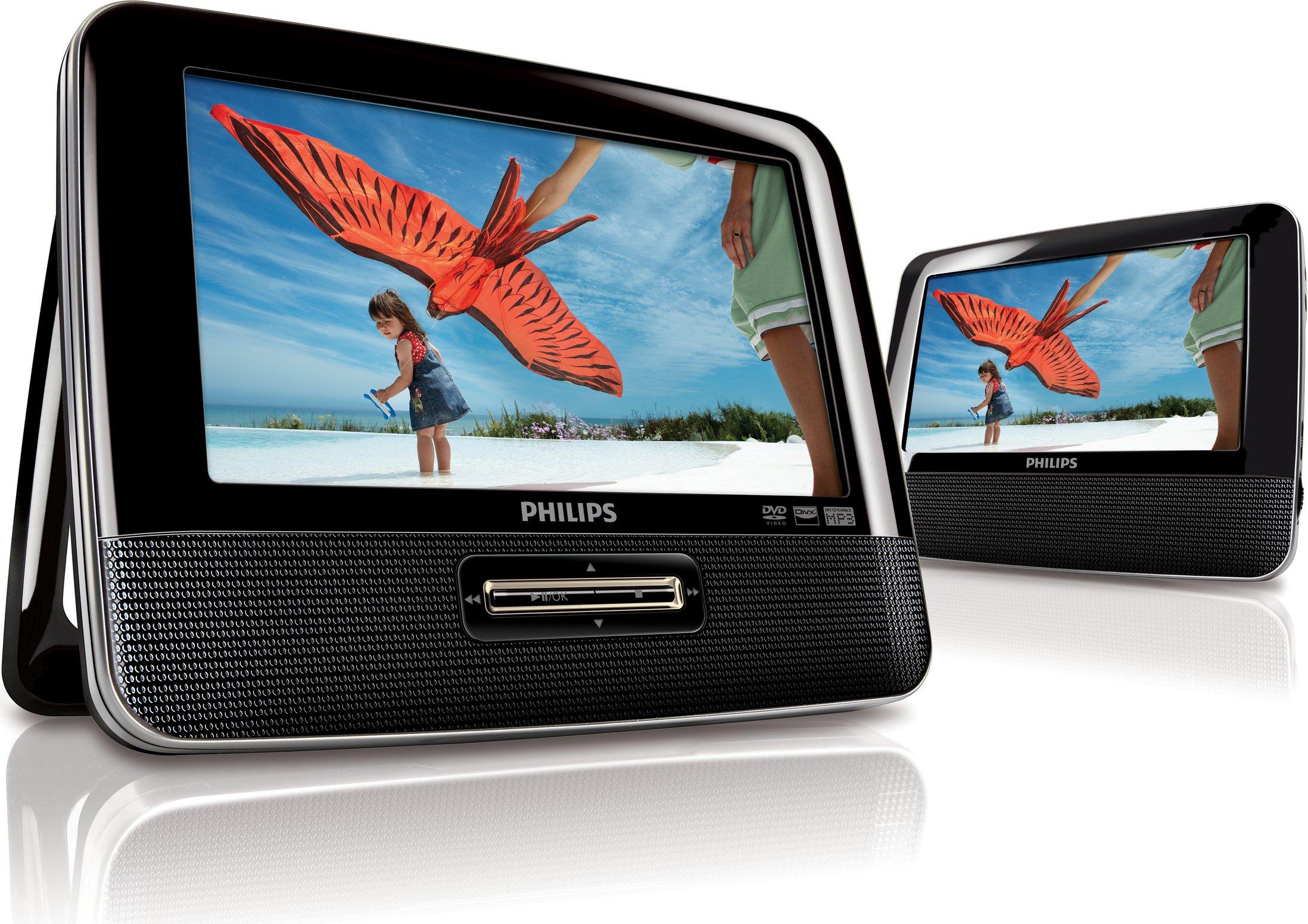 Philips PD7022/12 - Reproductor de DVD y Blu-ray portátil (2 ...