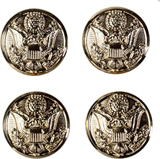 US Army Officer Female Button Set, ASU