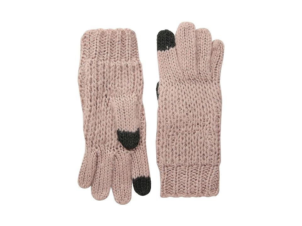 Michael Stars Stardust Gloves (Whisper) Liner Gloves