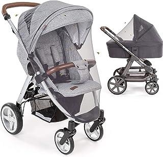 comprar comparacion Mosquitera / Red antiinsectos universal para capazo y silla de paseo | Protección ideal contra picaduras, con goma elástic...