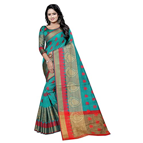 85f37aadf4af14 Banarasi Cotton Silk Sarees  Buy Banarasi Cotton Silk Sarees Online ...