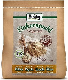 Biojoy BIO-Einkorn-mehl Urgetreide Vollkornmehl Triticum monococcum 2 kg
