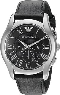 Men's AR1700 Dress Black Leather Watch