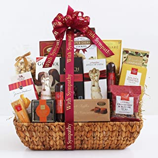In Our Hearts and Memories Sympathy Gift Basket