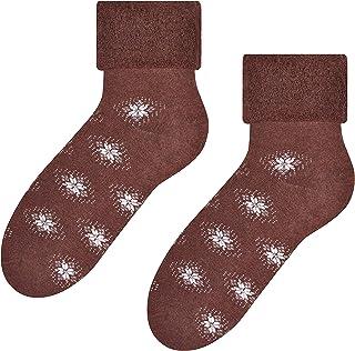 Steven, Calcetines de algodón de corte bajo para mujer, duraderos y cómodos, varios tamaños y diseños únicos, talla EU 35-40