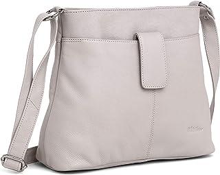 WILDHORN Leather Ladies Sling Bag | Cross-body Bag | Hand Bag | Shoulder Bag with Adjustable Strap for Girls & Women.