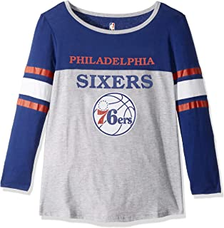 9e313133b41 UNK NBA Women s T-Shirt Raglan Baseball 3 4 Long Sleeve Tee Shirt