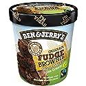 Ben & Jerry's Non-Dairy Ice Cream Chocolate Fudge Brownie, 500 ml (Frozen)