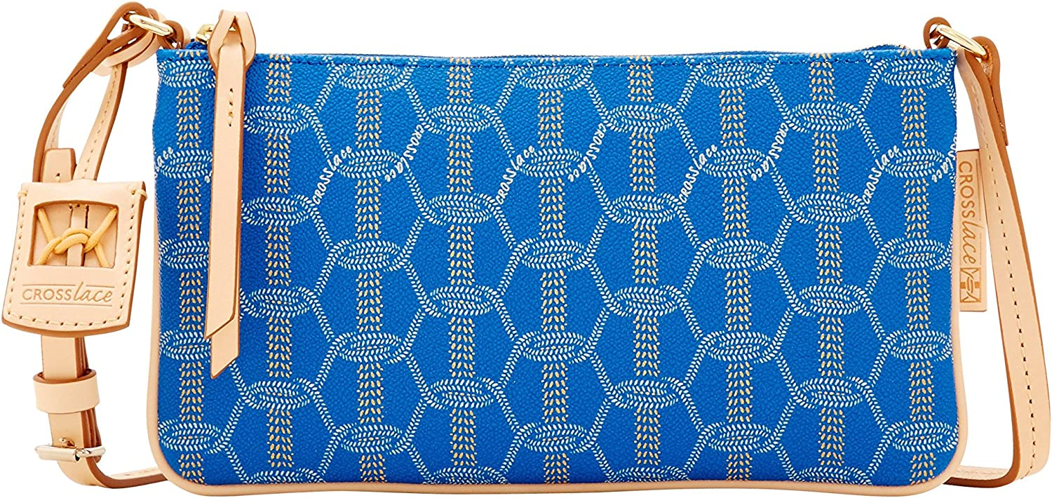 Crosslace East West Crossbody  Sky