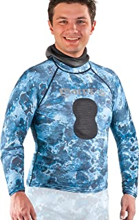 camo rash guard spearfishing