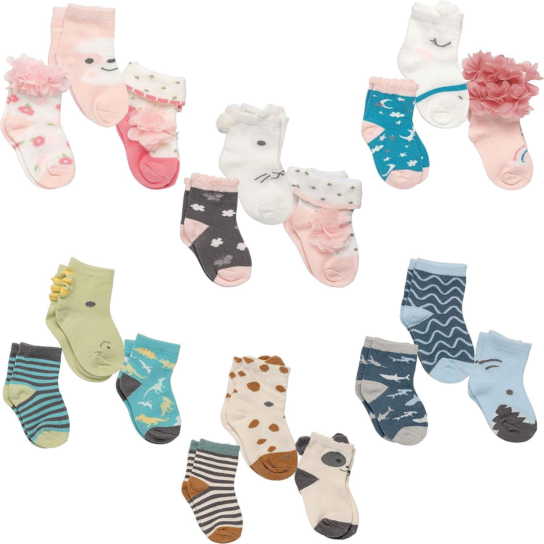 Stephen Joseph Baby Boxed Sock Set