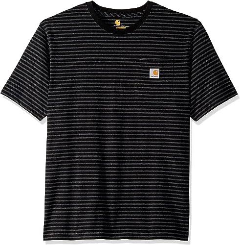 Carhartt Men's K87 Workwear Pocket Short Sleeve T-Shirt (Regular and Big & Tall Sizes)