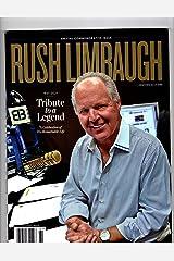 Rush Limbaugh Magazine Special Issue 61 Single Issue Magazine