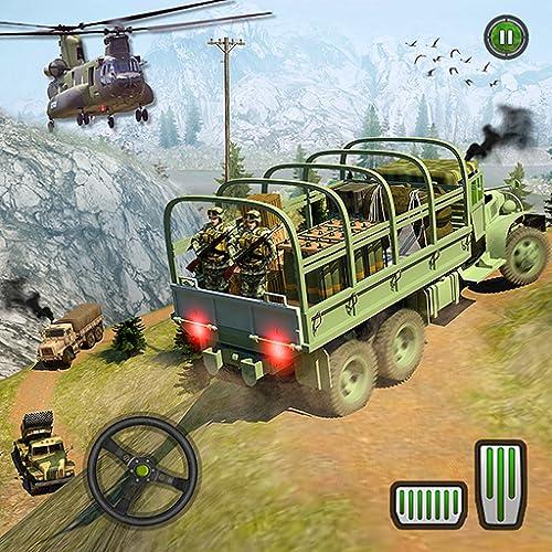Armee-LKW Fahren Simulator 2018 Offroad LKW Spiele