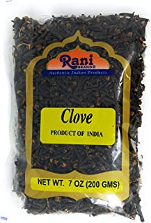 Rani Cloves Whole (Laung) Hand Selected, Indian Spice 7oz (200g) ~ All Natural, Gluten Free Ingredients | NON-GMO | Vegan | Indian Origin