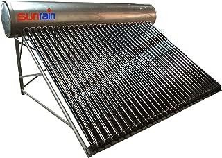 sunrain solar hot water