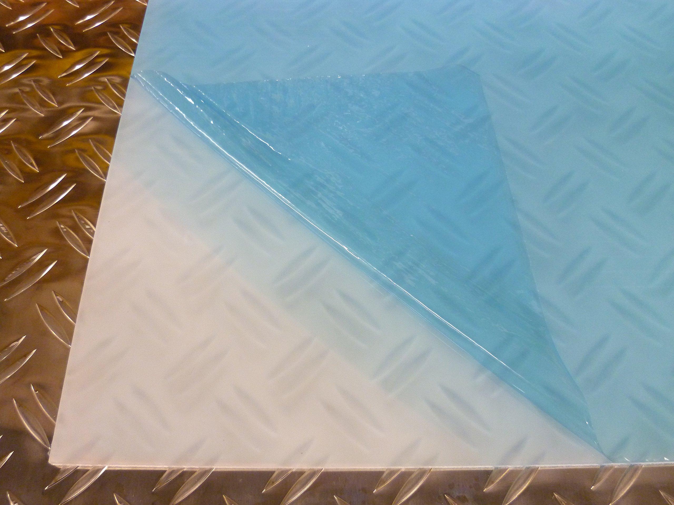transparente plexigl/ás Cristal acr/ílico XT B/&T PMMA resistente a los rayos UV laminado por ambos lados 4 mm