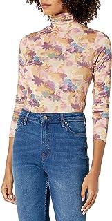 Marchio Amazon - Phoebe, maglia aderente, con maniche lunghe e collo dolcevita Donna di The Drop