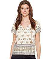 Lucky Brand - Border Printed Top