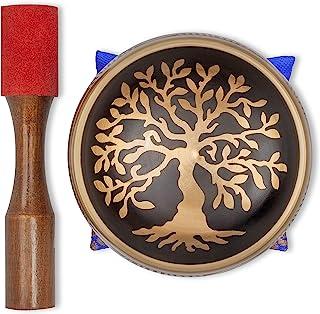 کاسه آواز تبتی - مجموعه کاسه آواز چاکرای دست ساز با چکش