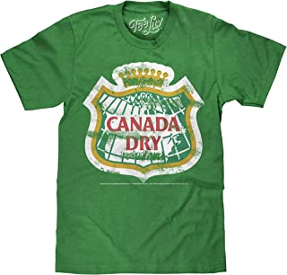 Tee Luv Canada Dry T-Shirt - Distressed Canada Dry Ginger Ale Shirt