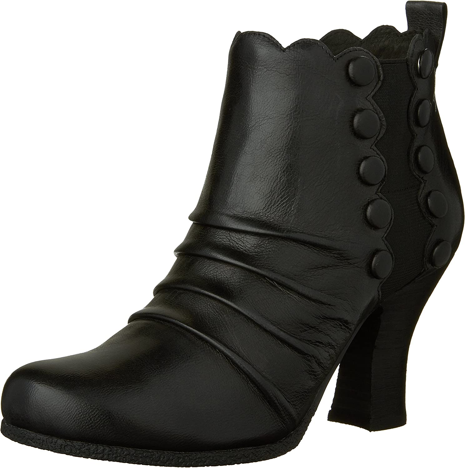 Miz Mooz Women's Kasha Boot with Button Detail