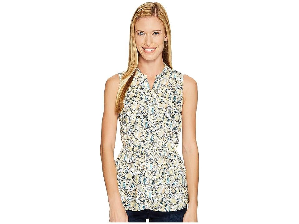 Woolrich Twin Pines Eco Rich Sleeveless Shirt (Golden Haze) Women