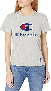 Champion Womens W4332 Women's Century Ss Tee Short Sleeve T-Shirt