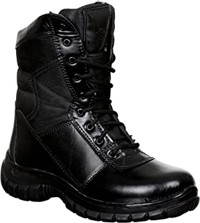 SSG Men's High Ankle Commando Leather Boots