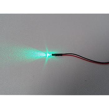 Unbekannt 10 Stück Mit Vorwiderstand Fertig Verkabelt 3mm Led Gelb 12v Beleuchtung Licht Spielzeug