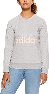adidas Women's CZ5722 Essetnials Linear Sweatshirt