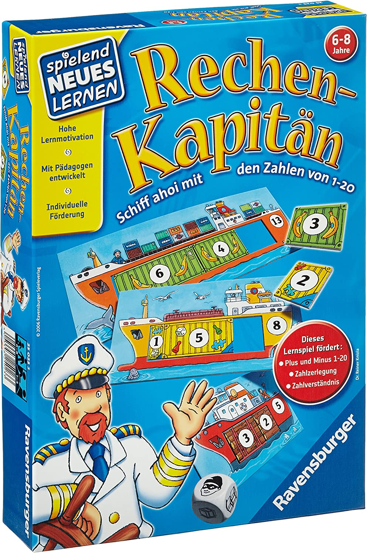 Ravensburger 25023 3  Calculating Captain 120  Game