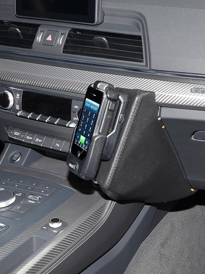 Kuda 2655 Halterung Kunstleder Schwarz Für Audi Q5 Ab Elektronik