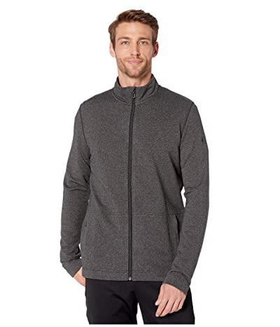 Smartwool Merino Sport Fleece Full Zip Jacket (Charcoal Heather) Men