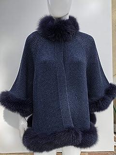 Giacca Puro Cashmere con bordi in Volpe/JKT-P