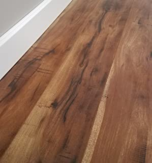 Turtle Bay Floors Sawmilled Acacia Floating Laminate Flooring 12mm Unilin AC4 Syncronized Embossed - Choose from 2 Colors (by The CASE, Barnum)