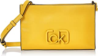 Calvin Klein Signature Ew Crossbody Luggage & Travel Gear, Yellow, 24 cm - K60K606504