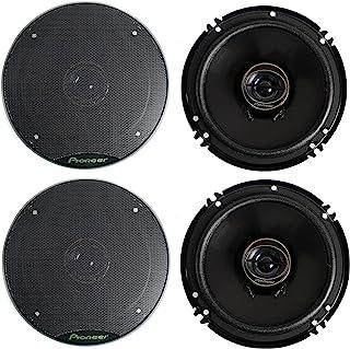 Car Speaker Coaxial Car Speaker Car Audio Stereo Speakers 6 Inch 500W Coaxial Car Automobile Auto Speaker Loudspearker Accessory Black Car Audio Speakers