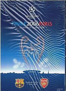2006 UEFA Champions League Final Official Match Programme FC Barcelona v Arsenal
