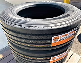 Set of 2 (TWO) Cosmo CT518 Plus Commercial All-Season Tire-255/70R22.5 140/137L LRH 16-Ply
