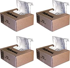 $116 » Fellowes Powershred Shredder Bags, 10 Gallon Capacity, Clear, 100 Bags and Ties/CTN (36052) Pack of 4