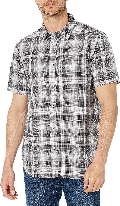Columbia Men's Leadville Ridge Short Long-awaited Shirt Max 79% OFF Ii Sleeve